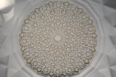 Ceiling of arabic palace Stock Image