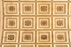 The Ceiling on the Arc de Triomphe, Paris Stock Photography