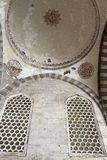 Ceiling arcade of blue mosque Royalty Free Stock Image