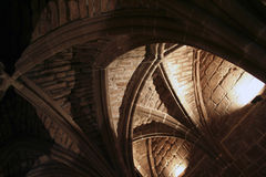 Ceiling arches Royalty Free Stock Images