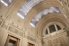 Ceiling architectural perspective Royalty Free Stock Image