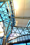 Ceiling architecture. Special ceiling architecture indoor stock photography