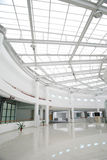 Ceiling architecture. Steel architecture ceiling of the building royalty free stock photography