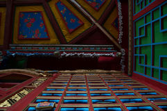 Ceiling of Ariyabal Temple Stock Photography