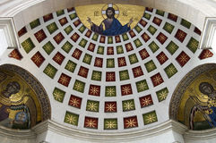 Ceiling art in church Royalty Free Stock Photo
