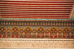 Bahia Palace ceiling detail Stock Photos