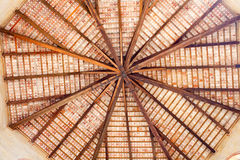 Ceiling of baptistry, Grado Royalty Free Stock Images
