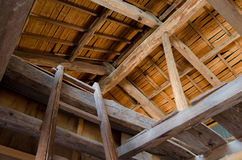 Ceiling of barn Stock Images