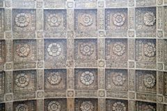 Ceiling in basilica of Saint Andrew in Mantua, Italy.  Stock Photos