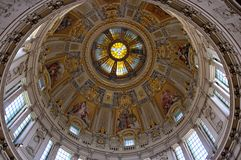 Ceiling of Berlin Cathedral Stock Photography