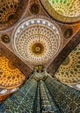 Ceiling of Blue Mosque in Istanbul Royalty Free Stock Photography