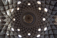 Ceiling of Borujerdis House Stock Image