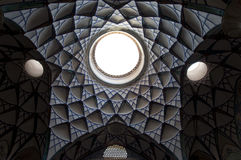 Ceiling of Borujerdis House Royalty Free Stock Image
