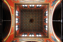 Ceiling of Boston Trinity Church Royalty Free Stock Photo