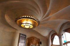Ceiling of Casa Batlló Royalty Free Stock Photos