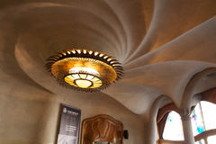 Ceiling of Casa Batlló Royalty Free Stock Photos