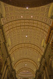 Ceiling of the Cathédrale Marie-Reine-du-Monde Royalty Free Stock Photo