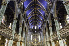 Ceiling of a catholic church Royalty Free Stock Photography