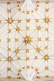 Ceiling of the central tower at York minster (cathedral) Royalty Free Stock Photography