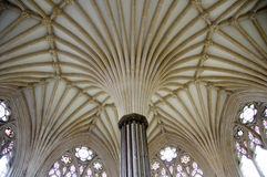 Ceiling of Chapter House Stock Image