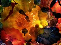 A Ceiling of Chihuly royalty free stock images