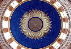 A ceiling in the church Stock Image
