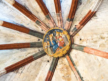 The Ceiling of the Church Royalty Free Stock Photos