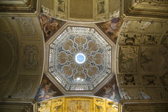 Ceiling of a church Royalty Free Stock Photo