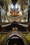 Ceiling of the church of the holy sepulcher Stock Images
