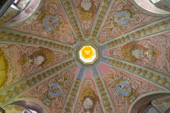 Ceiling Church Mural Stock Image