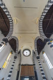 Ceiling in Church. Ceiling in Roman Catholic church Monterosso al Mare in Cinque Terre, Italy Stock Images
