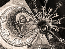 Ceiling of Church of the Savior on Spilled Blood, St Petersburg Royalty Free Stock Image