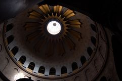 The ceiling of the church of the tomb. Royalty Free Stock Photos