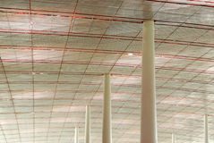 Ceiling and columns Stock Photography