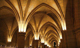 Ceiling of the Conciergerie Royalty Free Stock Photo