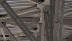 Ceiling construction stock video