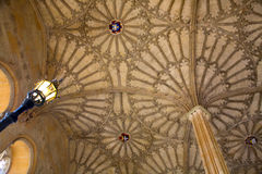 Ceiling of courtyard, Christ Church College, Oxford Stock Photos