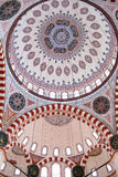 Ceiling decoration of Sehzade Mosque in Istanbul, Turkey Stock Images
