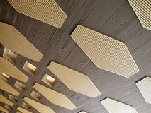 Ceiling decoration Stock Photo