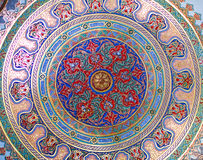 Ceiling decoration of Topkapi Palace in Istanbul, Turkey Royalty Free Stock Images