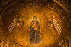 Ceiling decoration, Trieste Cathedral Royalty Free Stock Photo