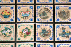 Ceiling decorative patterns Stock Image