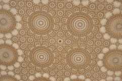 Ceiling design Hassan II Mosque,Casablanca Stock Photography