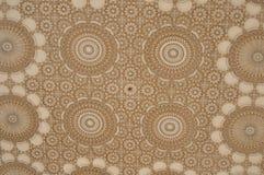 Ceiling design Hassan II Mosque,Casablanca stock photography