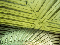 Ceiling Detail in Metro Station Royalty Free Stock Images
