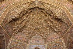 Ceiling detail, shiraz, iran Royalty Free Stock Photography