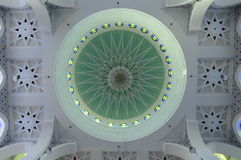 Ceiling detail of Sultan Ahmad 1 Mosque in Kuantan Stock Photography