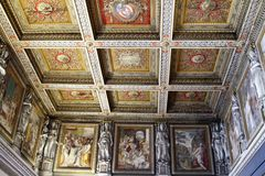 Ceiling details of Vatican museums Stock Photo