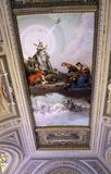 Ceiling details of Vatican museums Stock Photos