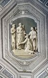 Ceiling details of Vatican museums Royalty Free Stock Photography